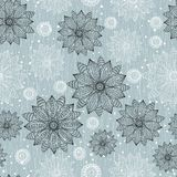 Floral seamless pattern with flowers Royalty Free Stock Images