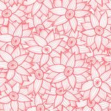 Floral seamless pattern with flowers. Stock Photography