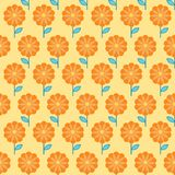 Floral seamless pattern. Flowers background Royalty Free Stock Photo