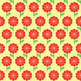Floral seamless pattern. Flowers background Royalty Free Stock Photos