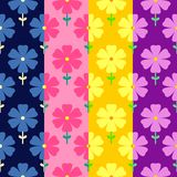 Floral seamless pattern. Flowers background Stock Photography
