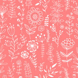 Floral seamless pattern. Stock Photos