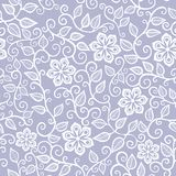 Floral seamless pattern with flowers. Royalty Free Stock Images