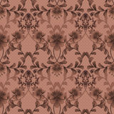 Floral seamless pattern with flowers texture gzhel background Royalty Free Stock Photo