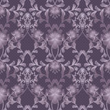 Floral seamless pattern with flowers texture gzhel background Royalty Free Stock Images