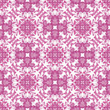 Floral seamless pattern with flowers texture on white background Stock Image
