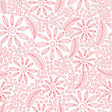 Floral seamless pattern with flowers Royalty Free Stock Photos