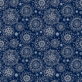 Floral seamless pattern with flowers Royalty Free Stock Photography