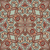 Floral seamless pattern. Fractal geometric ornament Oriental ornamental background. Royalty Free Stock Photography