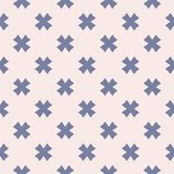 Floral seamless pattern for girls and boys. Baby shower background. Vector seamless pattern for girls and boys. Baby shower background. Modern texture in soft Royalty Free Stock Photo
