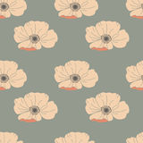 Floral seamless pattern. Good for wallpaper, pattern fills, web page background,surface textures. Royalty Free Stock Image