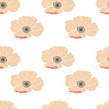 Floral seamless pattern. Good for wallpaper, pattern fills, web page background,surface textures. Stock Images