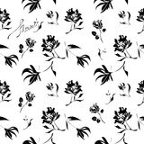 Seamless pattern. Floral design vector illustration vector illustration