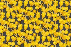 Floral seamless pattern. Hand drawn creative flowers. Artistic background. Abstract herb. Stains of paint. Can be used for wallpaper, textiles, wrapping, print stock illustration