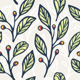Floral seamless pattern 4 Stock Photos