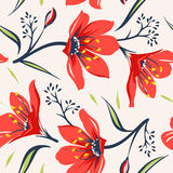 Floral seamless pattern 5 Royalty Free Stock Photo