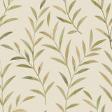 Floral seamless pattern. Leaves background. Nature ornamental te. Xture with plant leaf royalty free illustration