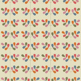 Floral seamless pattern with leaves. Vector Royalty Free Stock Photography