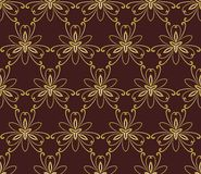 Floral Seamless  Pattern. Orient Abstract Stock Images