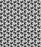 Floral Seamless  Pattern. Floral  ornament. Seamless abstract black and white fine pattern Stock Photos