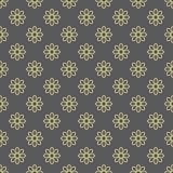 Floral Seamless  Pattern. Floral  ornament. Seamless fine pattern. Brown and golden colors Royalty Free Stock Images