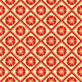 Floral seamless pattern ornament royalty free illustration