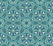 Floral seamless pattern Ornamental backdrop. Floral seamless pattern in vintage paisley style. Ornamental surface fill for wallpaper and fabric Stock Photo
