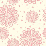 Floral Seamless Pattern. Royalty Free Stock Photo