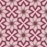 Floral seamless pattern. Purple red background with flower design elements. For wallpapers, textile and fabrics Stock Image