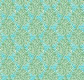Floral seamless pattern in renaissance style Stock Image