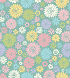 Floral seamless pattern. royalty free illustration