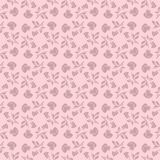 Floral seamless pattern with rose in pastel tones Stock Image