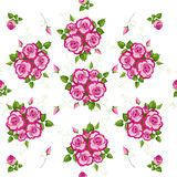 Floral seamless pattern . Stock Image