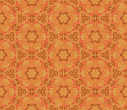 Floral seamless pattern in the Russian style. Stock Photo