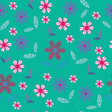 Floral seamless pattern. Seamless pattern can be u Royalty Free Stock Photo