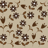 Floral seamless pattern. Seamless pattern can be u Royalty Free Stock Photos
