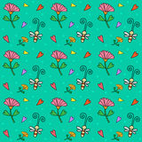 Floral seamless pattern. Floral. summertime. Vector Royalty Free Stock Photos