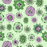 Floral seamless pattern. For textiles, interior design, for book design, website background Royalty Free Stock Images