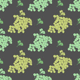 Floral seamless pattern. For textiles, interior design, for book design, website background Stock Images