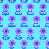 Floral seamless pattern with tranparency elements. Background wi Royalty Free Stock Photos