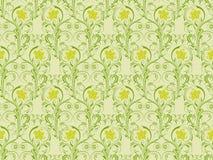 Floral seamless pattern, vecto Stock Photos