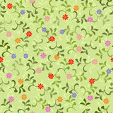 Floral seamless pattern in vector. Floral seamless backgrounds for design of fabrics and wallpapers in vector Royalty Free Stock Image
