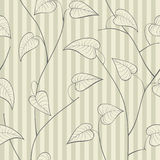 Floral seamless pattern. Vector Stock Image