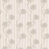Floral seamless pattern. Vector Royalty Free Stock Images