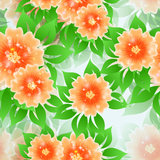 Floral Seamless Pattern. Stock Image
