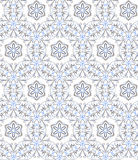 Floral seamless pattern, vector Stock Photo