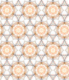Floral seamless pattern, vector Stock Images