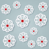 Floral seamless pattern. Vector background Royalty Free Stock Image