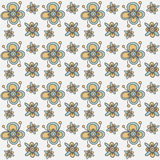 Floral seamless pattern. Vector background Royalty Free Stock Photos
