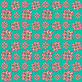 Floral seamless pattern. Vector background Royalty Free Stock Photography